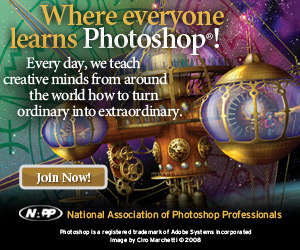 Where everyone learns Photoshop - National Association of Photoshop Professionals
